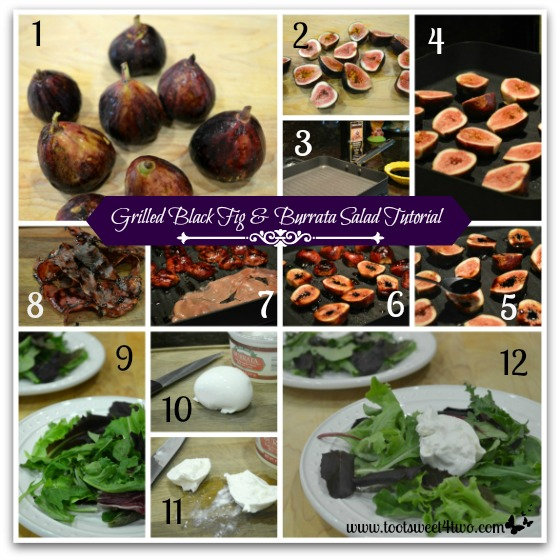 Grilled Black Fig and Burrata Salad Tutorial