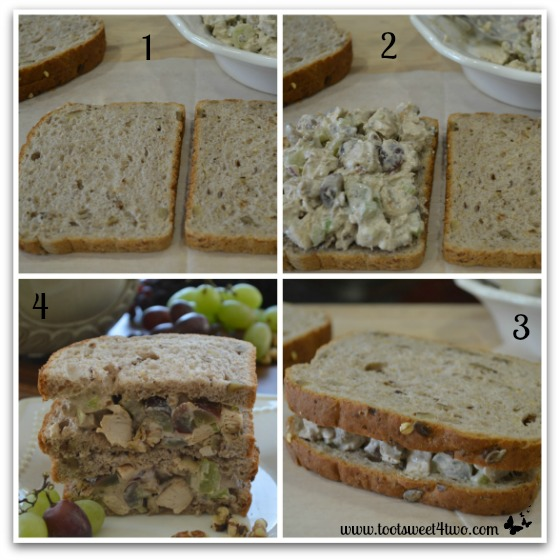 Make a Grilled Balsamic Chicken Salad Sandwich