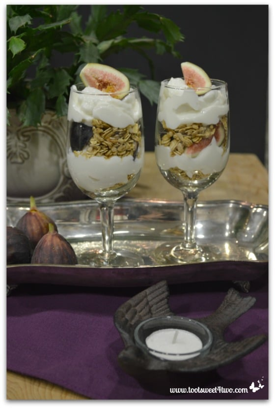 Ready-to-serve Black Fig Parfaits
