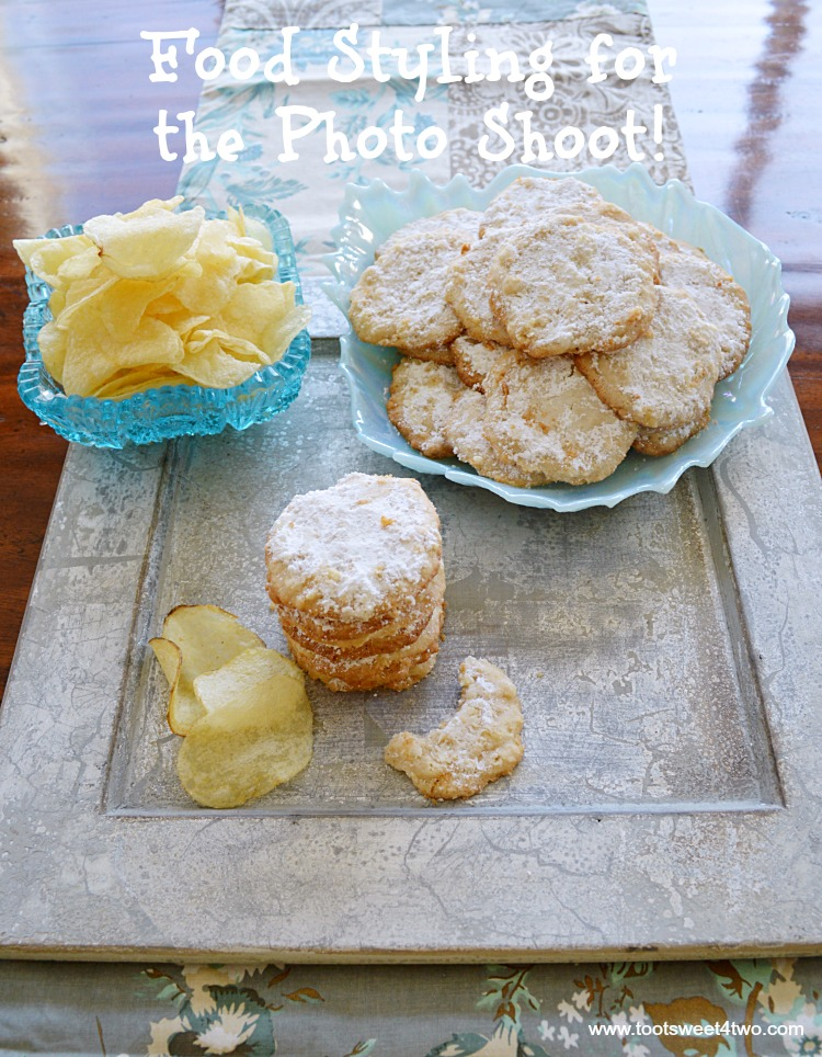 One of the best cookie recipes ever, Potato Chip Cookies are the perfect blend of sweet and salty. Made with Lays potato chips, these easy homemade cookies are sweet, buttery and delicious with just the right amount of salt. If you think your family already has a favorite recipe for cookies, think again! Addicting (in a good way), this potato chip cookie recipe will fast become a family favorite. Delicious any time of year, these cookies are perfect Christmas cookies to share - just be sure to include the recipe with your gift because your friends and family will ask! | www.tootsweet4two.com