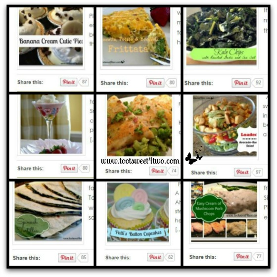 Honorable Mentions - Pinterest Pins