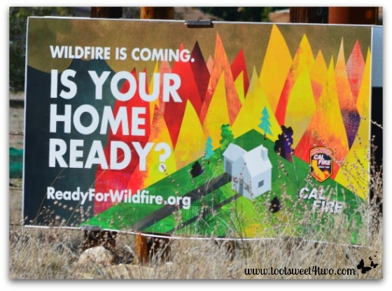 Is Your Home Ready sign