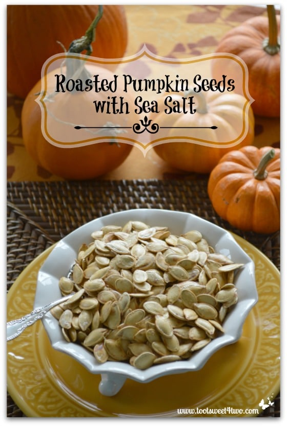 Roasted Pumpkin Seeds top view