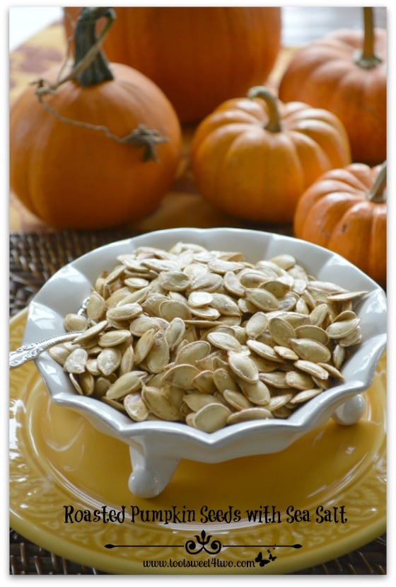 Roasted Pumpkin Seeds with Sea Salt Pinterest