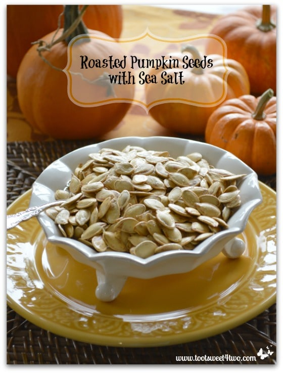 Roasted Pumpkin Seeds with Sea Salt vertical
