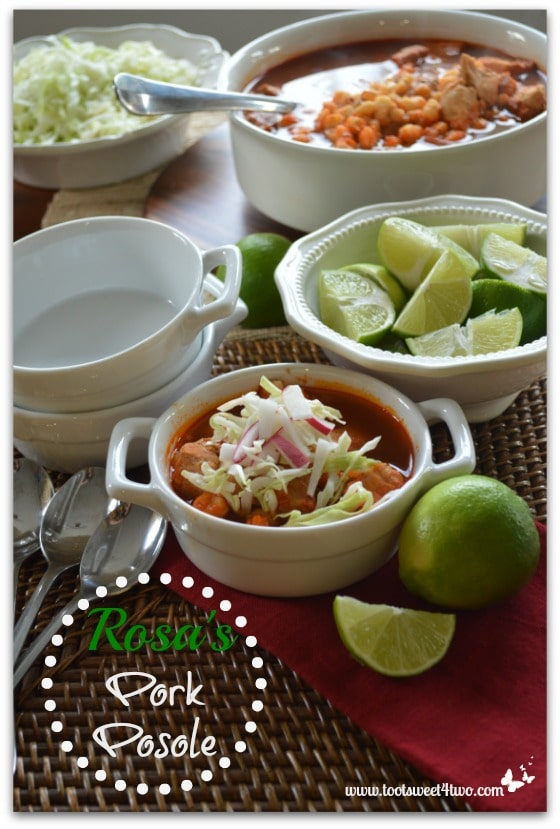 Rosa's Pork Posole for Pinterest