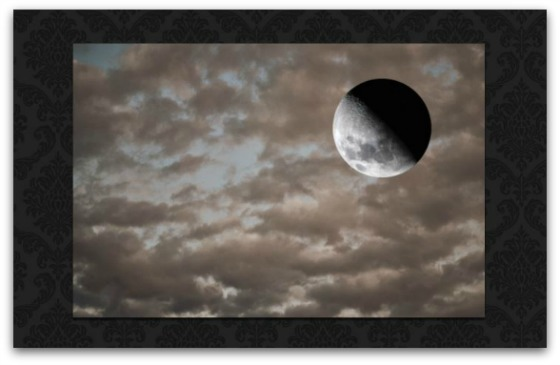 Step #9 - Turn your moon and reposition