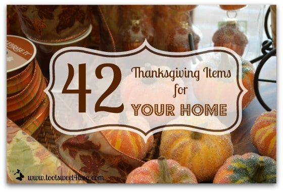 42 Thanksgiving Items for Your Home cover