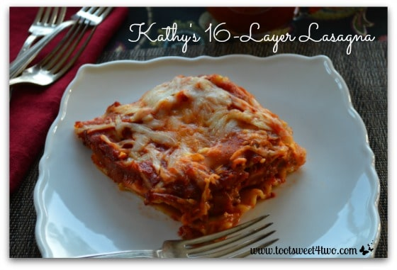 Kathy's 16-Layer Lasagna cover