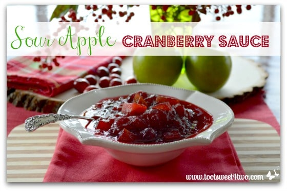 Sour Apple Cranberry Sauce cover