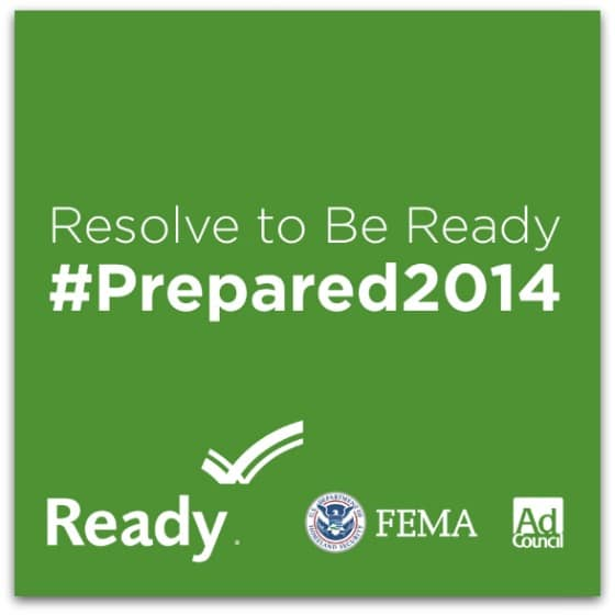 FEMA Resolve to Be Ready banner by Jana Baldwin