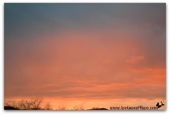 Picture 9 - Sunset sky - November 23, 2013