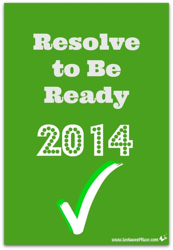 Resolve to Be Ready Pinterest