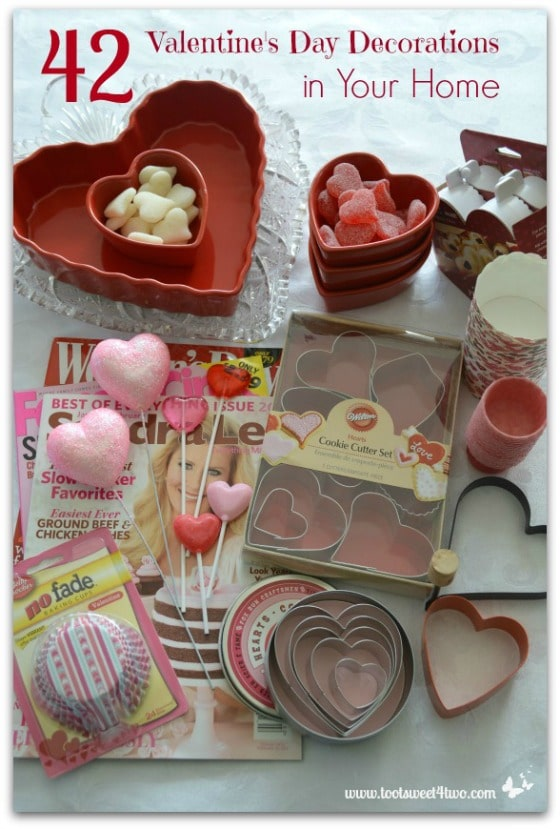 42 Valentine's Day Decorations in Your Home Pinterest