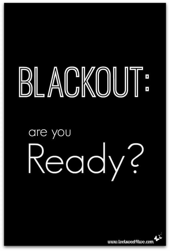 Blackout Are You Ready cover