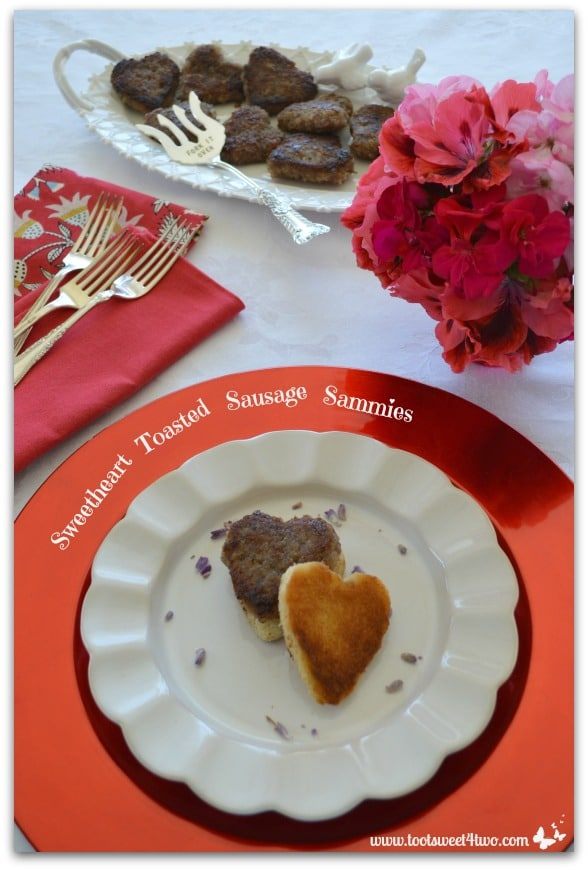 Sweetheart Toasted Sausage Sammies with Sweetheart Maple and Sage Sausage Patties