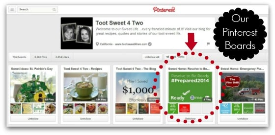 Toot Sweet 4 Two Pinterest boards - Blackout are you Ready