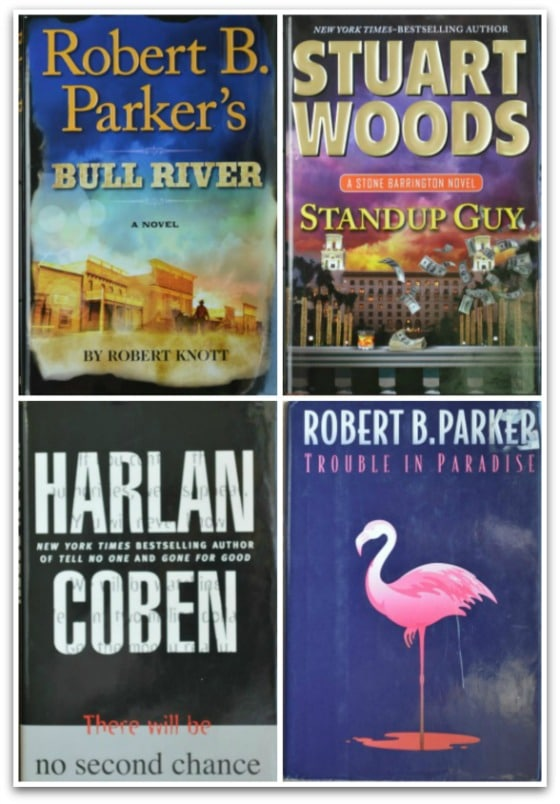 Top 4 books - What Charlie Read Retires