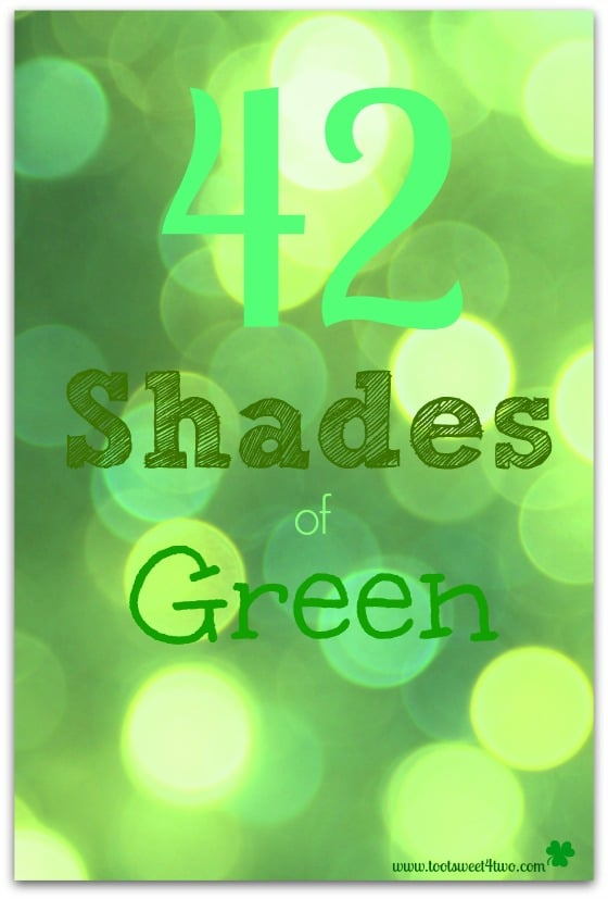 42 Shades of Green cover