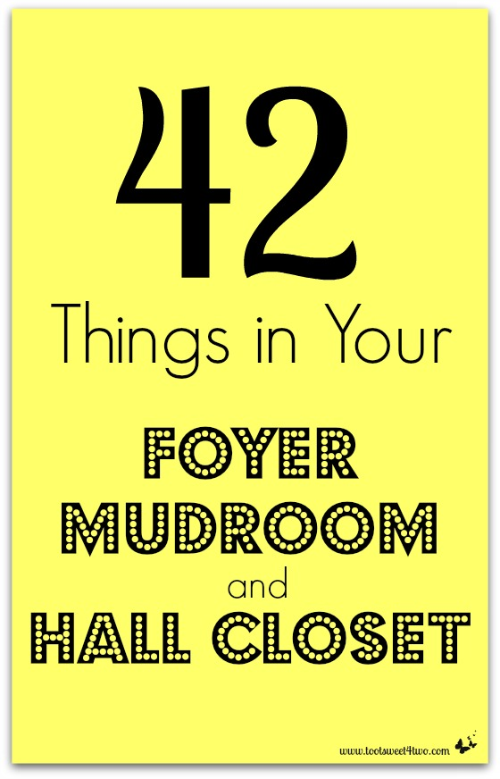 42 Things in Your Foyer, Mudroom and Hall Closet cover