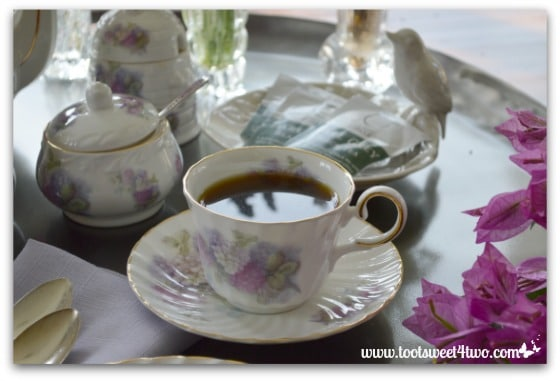 A cup of tea - The Charms of Afternoon Tea