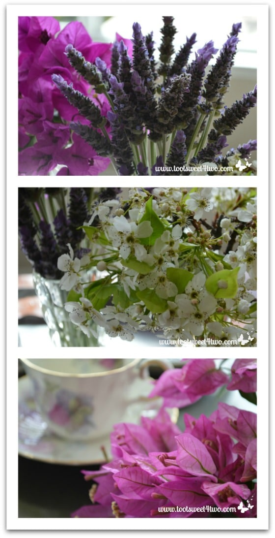 Flowers for the tea table - The Charms of Afternoon Tea