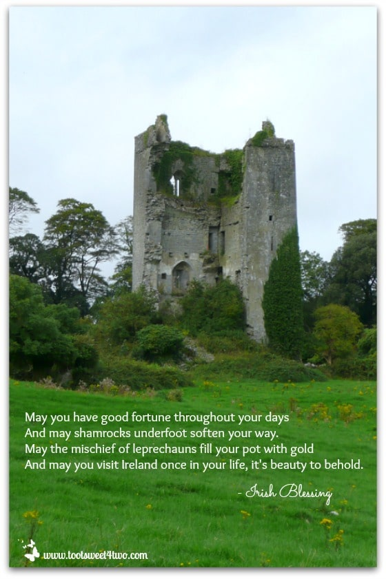 Good Fortune Irish Blessing