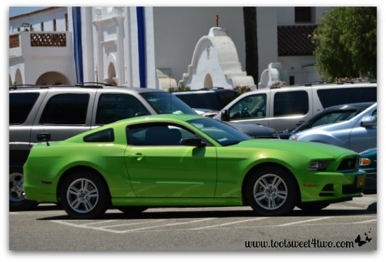 Green Ford Mustang - 42 Shades of Green