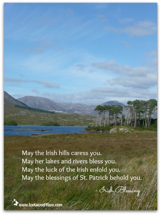 Irish hills Irish blessing