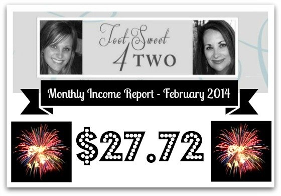 Monthly Income Report - February 2014
