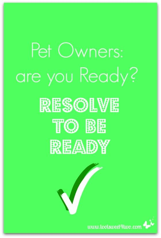Pet Owners are you Ready cover