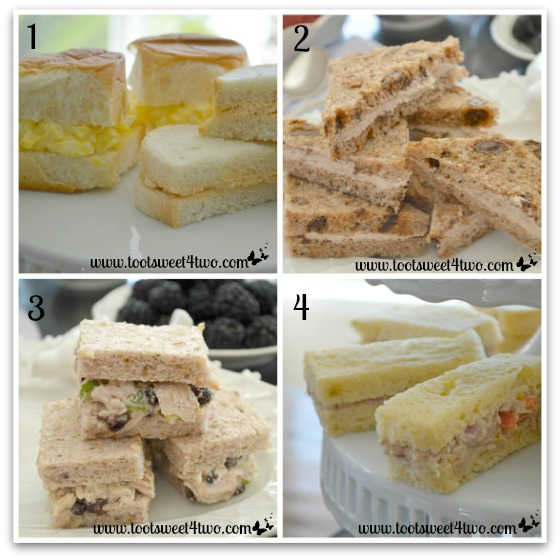Tea Sandwiches - The Charms of Afternoon Tea