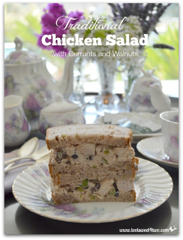 Traditional Chicken Salad with Currants and Walnuts