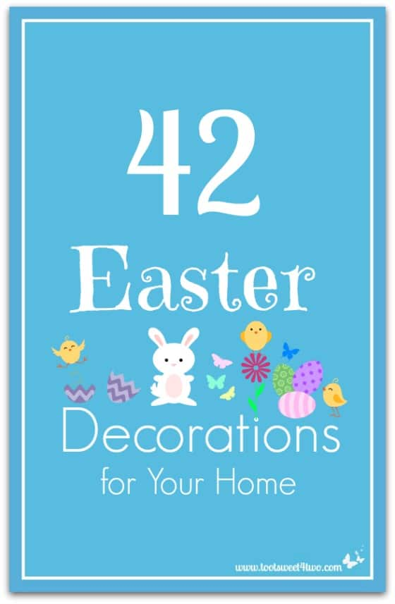 42 Easter Decorations for Your Home Pinterest