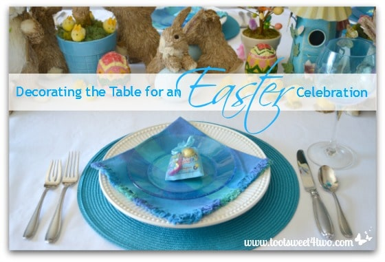 Decorating the Table for an Easter Celebration cover
