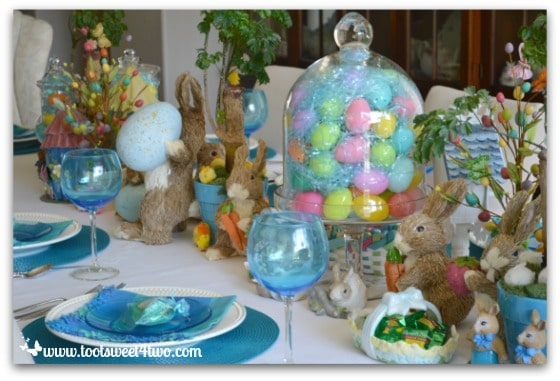 Http Rustichills Net Easter Dinner Table Decorations Html