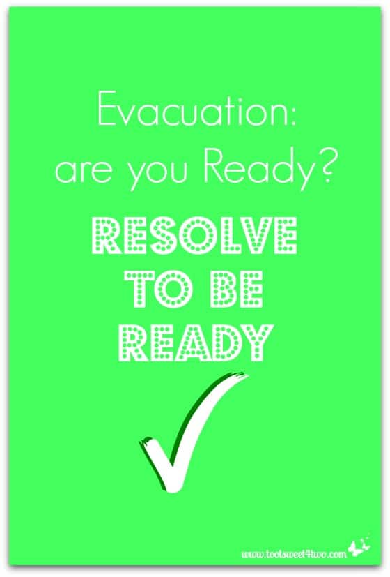 Evacuation are you Ready cover