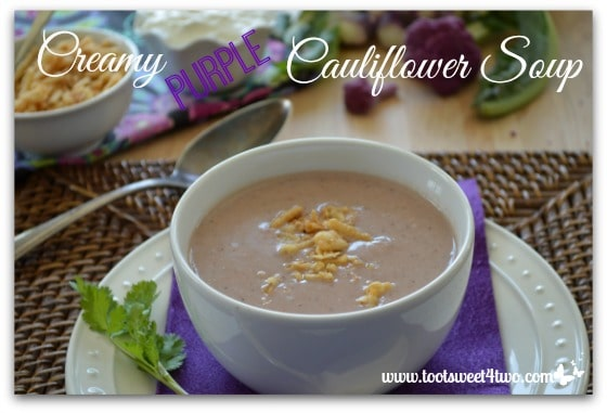 Creamy Purple Cauliflower Soup Pic 2