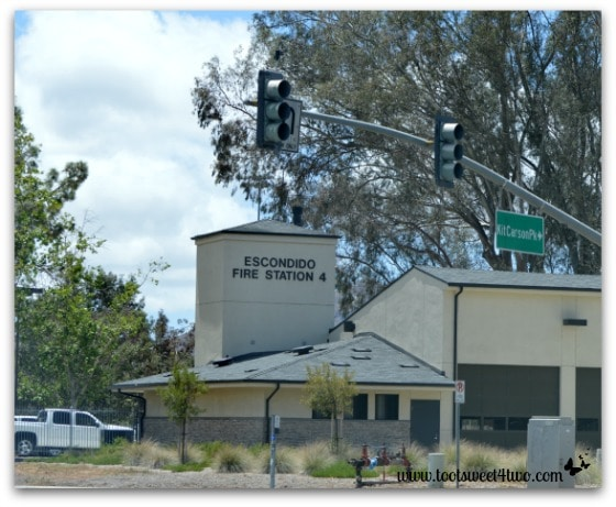 Escondido Fire Station 4 Kit Carson Park - Alert are you Ready