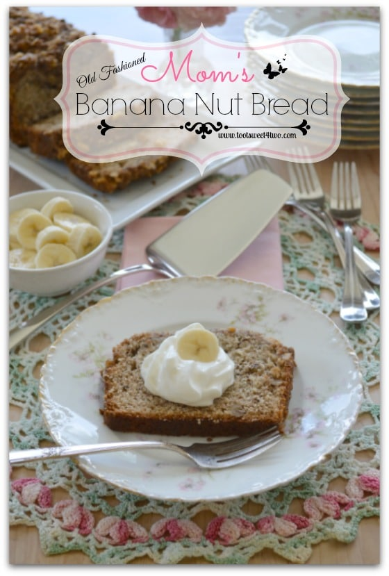 Mom's Old Fashioned Banana Nut Bread Pic 1