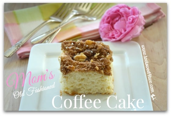 Mom's Old Fashioned Coffee Cake Pic 4