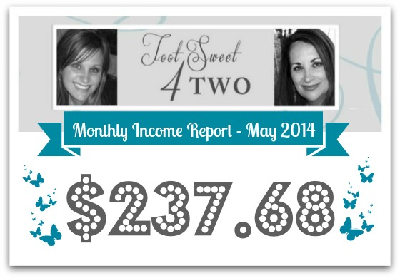Monthly Income Report - May 2014 cover