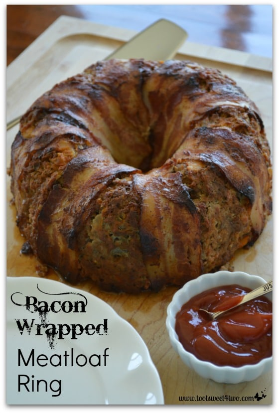 Bacon Wrapped Meatloaf Ring - Pic 1