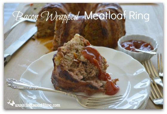 Bacon Wrapped Meatloaf Ring - Pic 4