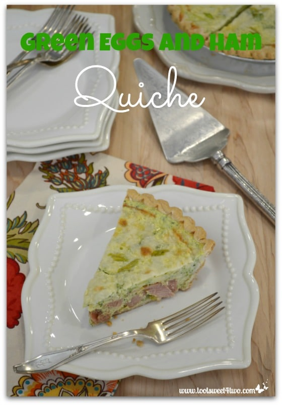 Green Eggs and Ham Quiche - Pic 4