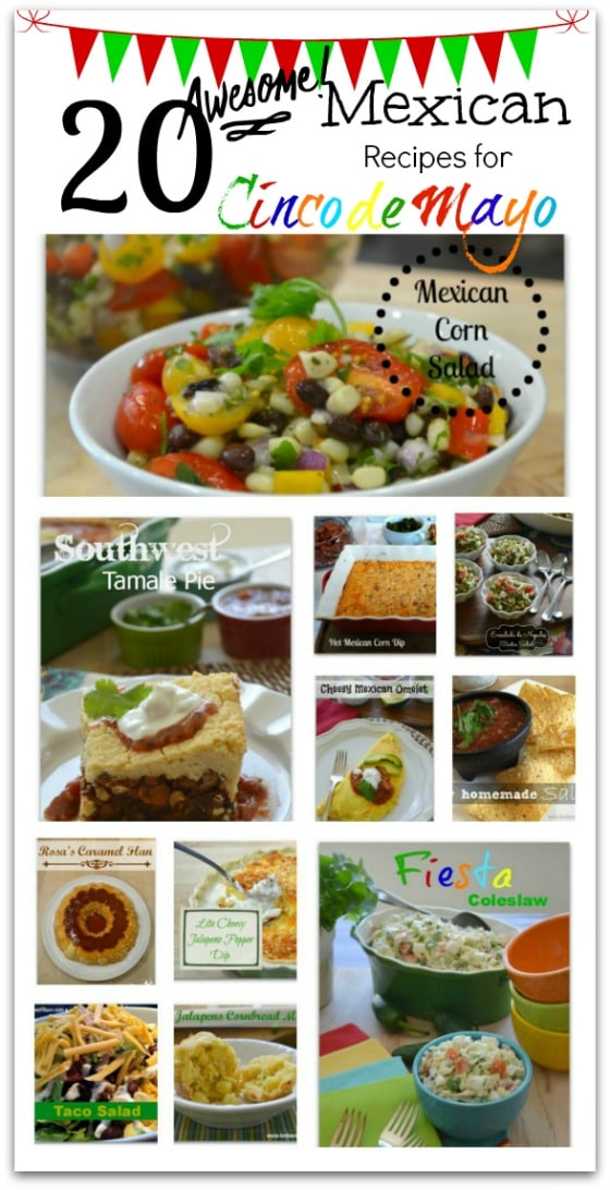 PicMonkey Basics - Collage - 20 Awesome Mexican Recipes for Cinco de Mayo