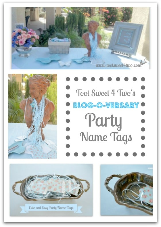 PicMonkey Basics - Collage - Blog-o-versary Party Name Tags