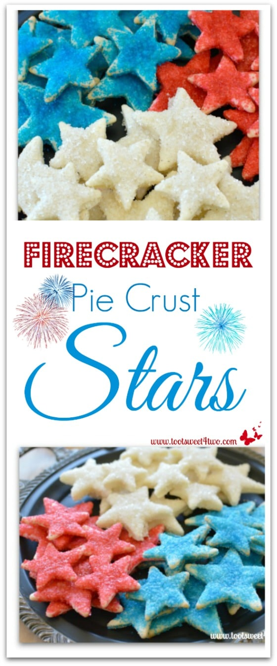 PicMonkey Basics - Collage - Firecracker Pie Crust Stars collage