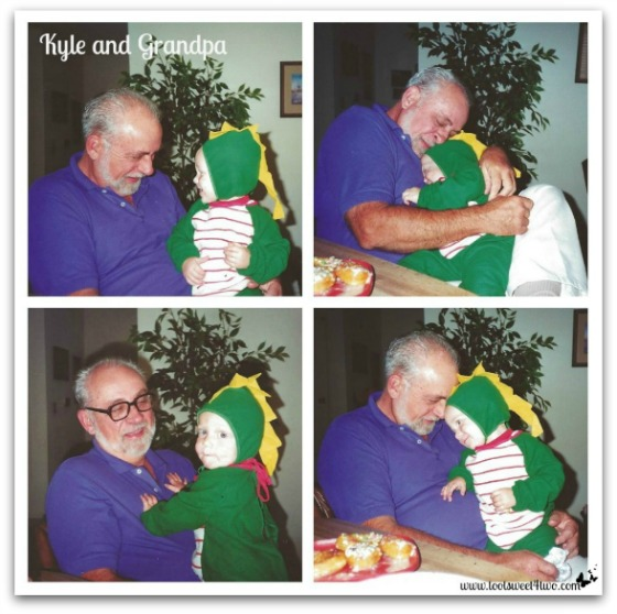 PicMonkey Basics - Collage - Kyle and Grandpa - Sons of My Father