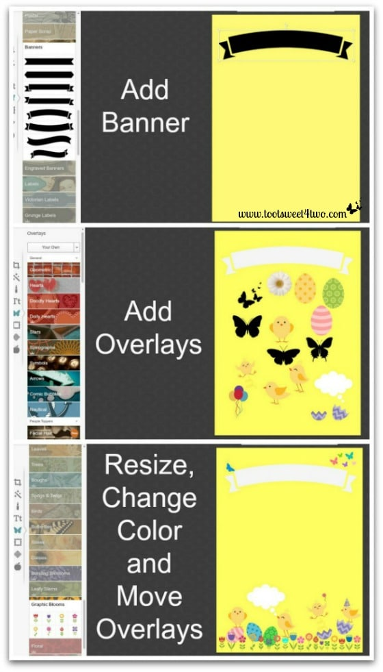 PicMonkey Basics - Design Your Own - Pic 3 - Add overlays